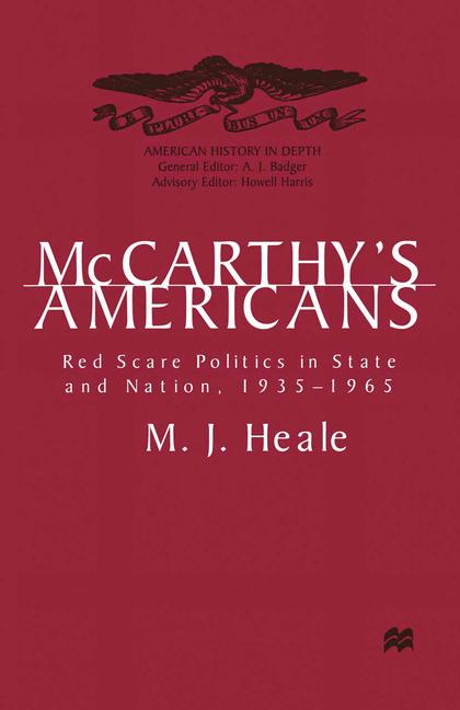 Cover of 'McCarthy's Americans'