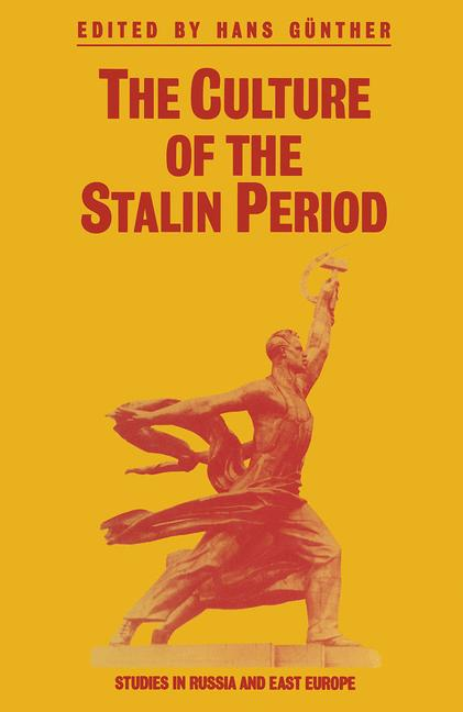 Cover of 'The Culture of the Stalin Period'