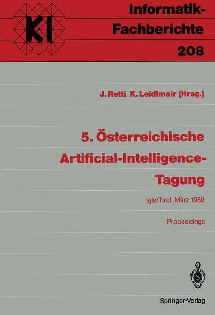 Cover of '5. Österreichische Artificial-Intelligence-Tagung'