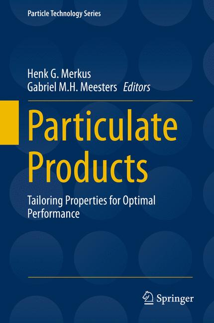 Cover of 'Particulate Products'