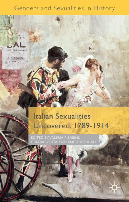 Cover of 'Italian Sexualities Uncovered, 1789–1914'