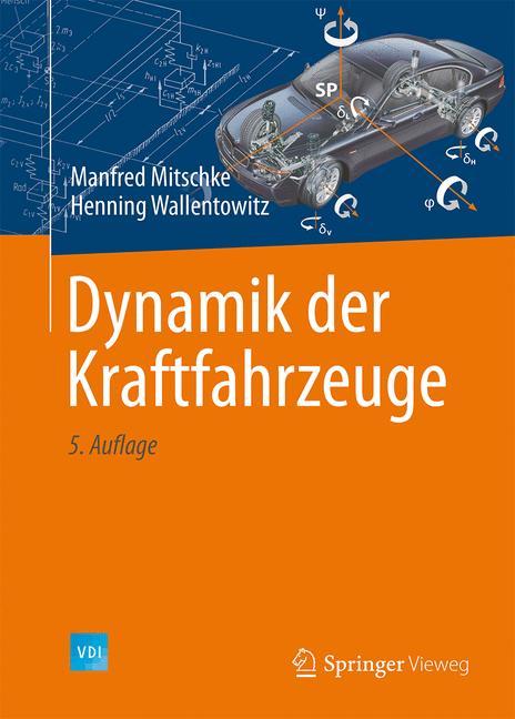 Cover of 'Dynamik der Kraftfahrzeuge'