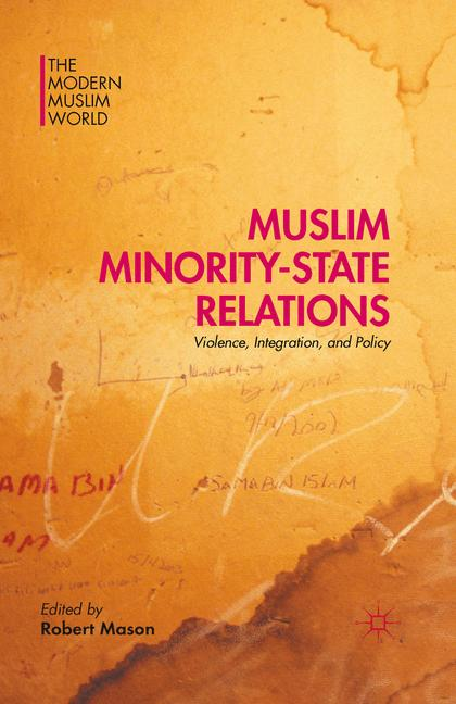 Cover of 'Muslim Minority-State Relations'