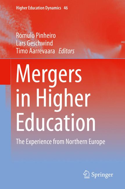 Cover of 'Mergers in Higher Education'