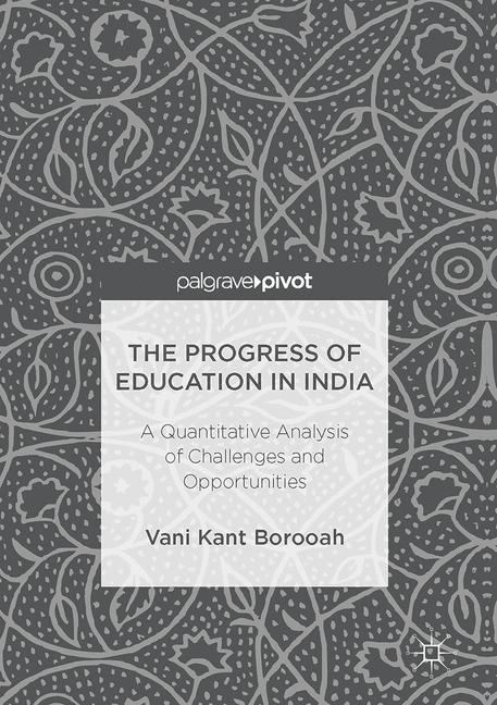 Cover of 'The Progress of Education in India'