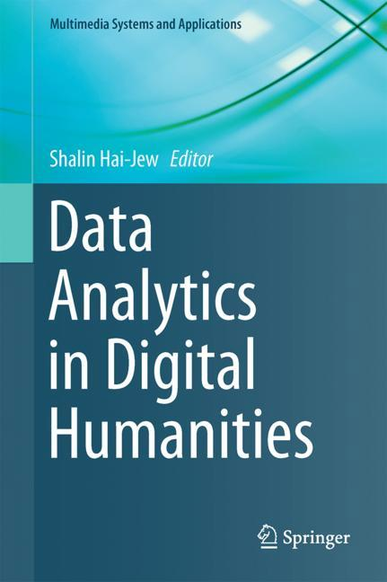 Cover of 'Data Analytics in Digital Humanities'