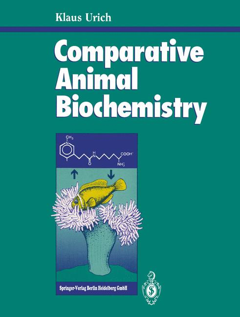 Cover of 'Comparative Animal Biochemistry'
