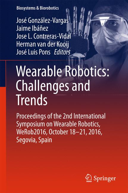 Cover of 'Wearable Robotics: Challenges and Trends'