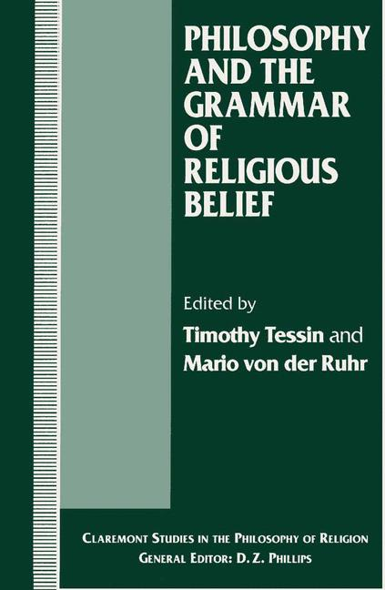 Cover of 'Philosophy and the Grammar of Religious Belief'