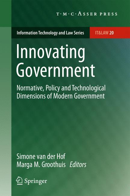 Cover of 'Innovating Government'
