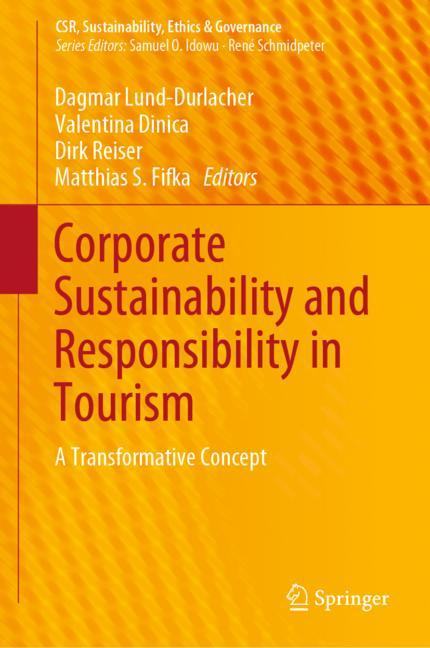 Cover of 'Corporate Sustainability and Responsibility in Tourism'