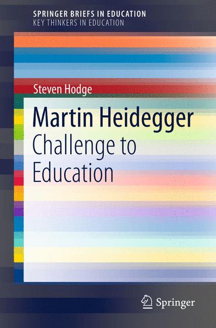 Cover of 'Martin Heidegger'