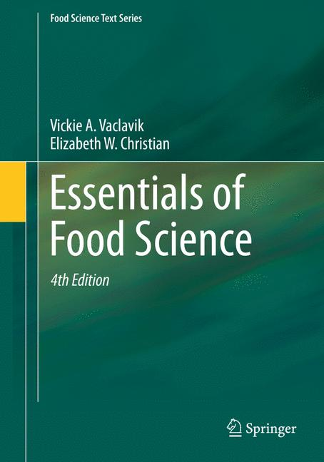 Cover of 'Essentials of Food Science'