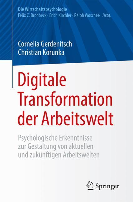 Cover of 'Digitale Transformation der Arbeitswelt'