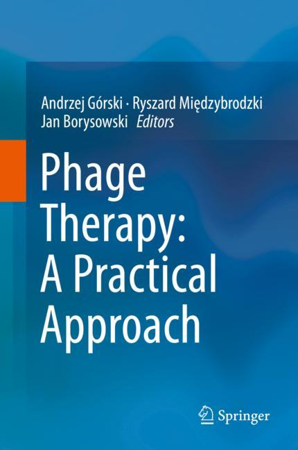 Cover of 'Phage Therapy: A Practical Approach'