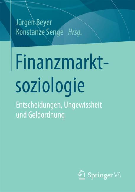 Cover of 'Finanzmarktsoziologie'