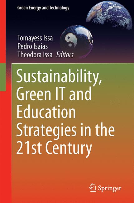 Cover of 'Sustainability, Green IT and Education Strategies in the 21st Century'