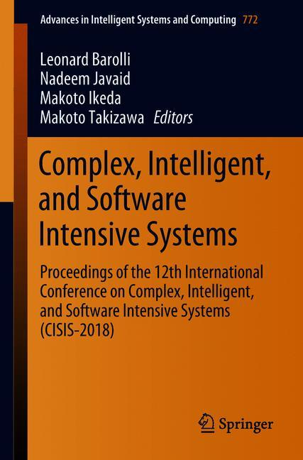 Cover of 'Complex, Intelligent, and Software Intensive Systems'