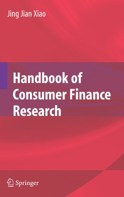 Cover of 'Handbook of Consumer Finance Research'