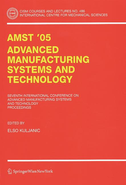 Cover of 'AMST'05 Advanced Manufacturing Systems and Technology'