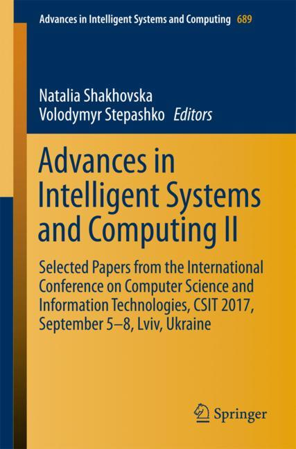 Cover of 'Advances in Intelligent Systems and Computing II'