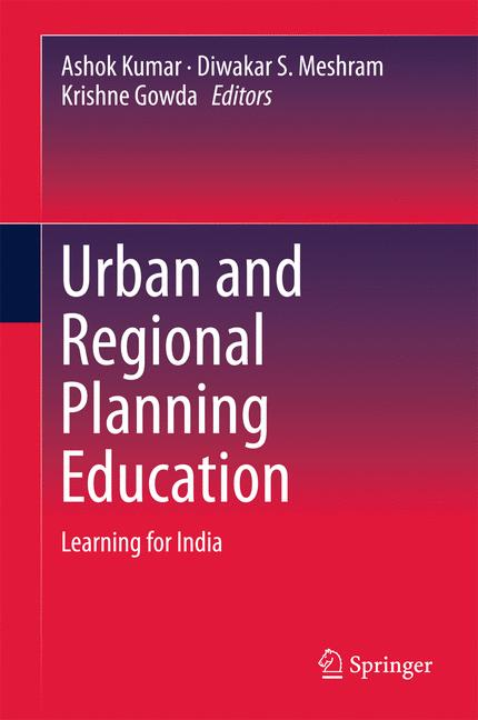 Cover of 'Urban and Regional Planning Education'
