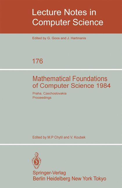 Cover of 'Mathematical Foundations of Computer Science 1984'