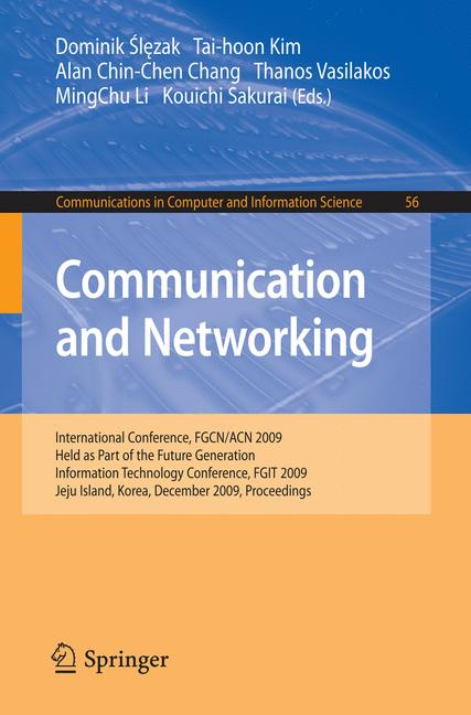 Cover of 'Communication and Networking'