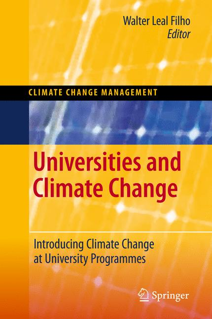Cover of 'Universities and Climate Change'