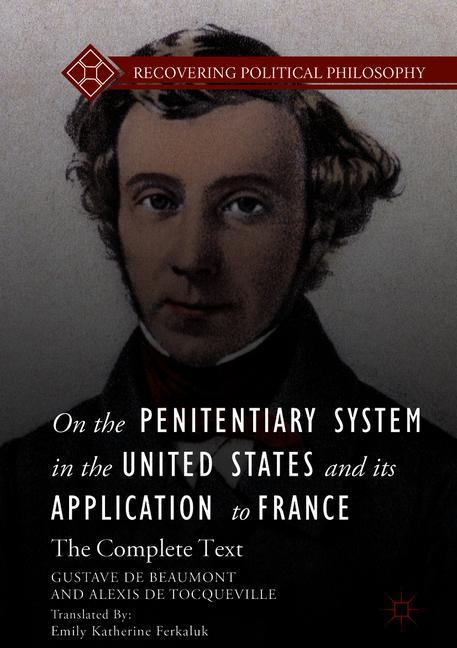 Cover of 'On the Penitentiary System in the United States and its Application to France'