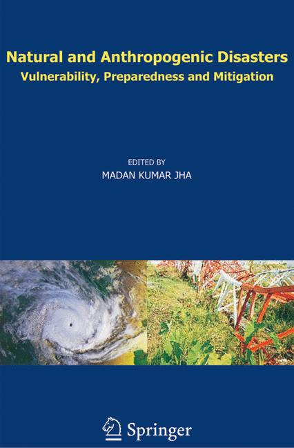 Cover of 'Natural and Anthropogenic Disasters'