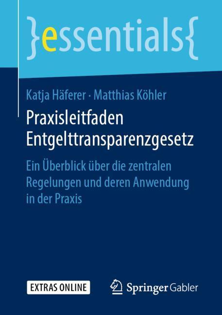 Cover of 'Praxisleitfaden Entgelttransparenzgesetz'