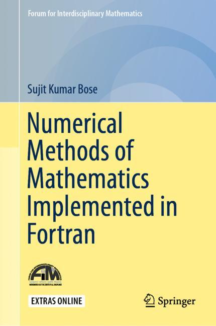 Cover of 'Numerical Methods of Mathematics Implemented in Fortran'