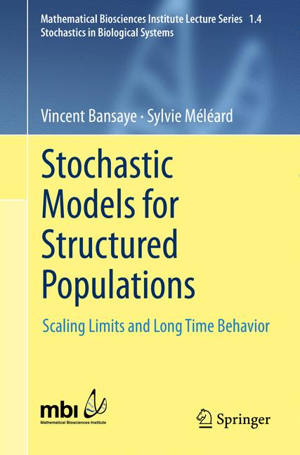 Cover of 'Stochastic Models for Structured Populations'