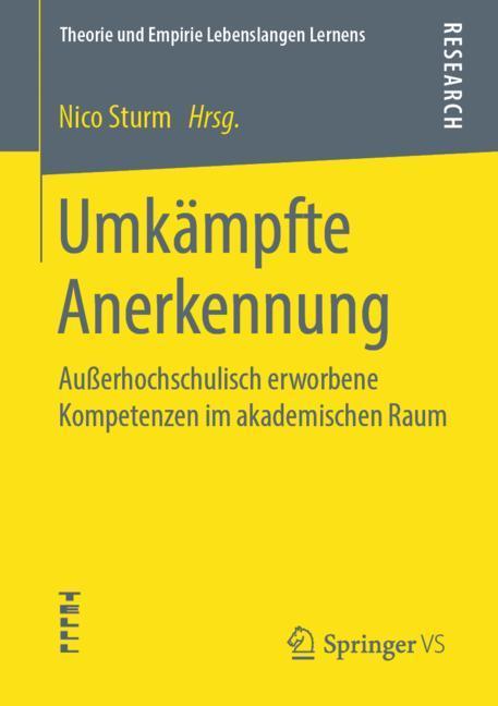 Cover of 'Umkämpfte Anerkennung'