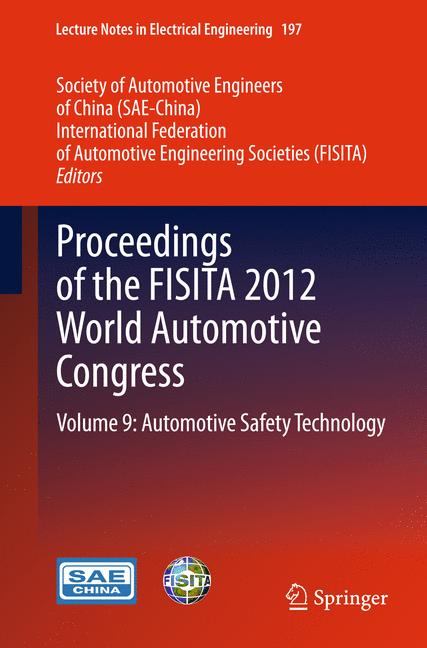 Cover of 'Proceedings of the FISITA 2012 World Automotive Congress'