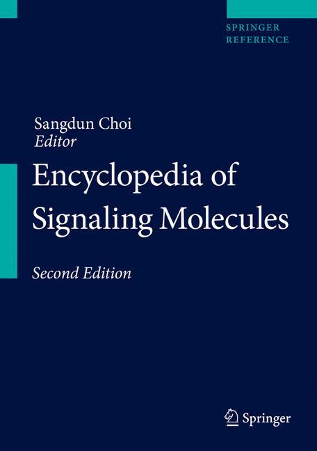 Cover of 'Encyclopedia of Signaling Molecules'