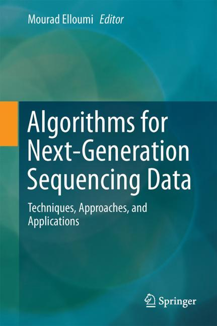 Cover of 'Algorithms for Next-Generation Sequencing Data'