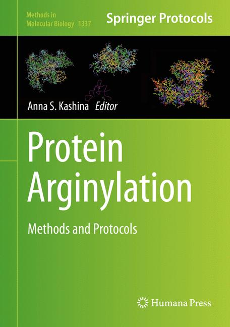 Cover of 'Protein Arginylation'