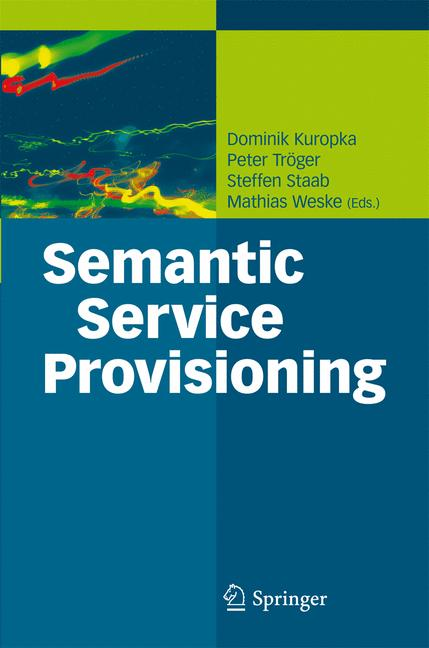 Cover of 'Semantic Service Provisioning'