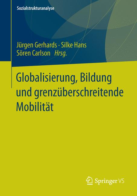 Cover of 'Globalisierung, Bildung und grenzüberschreitende Mobilität'