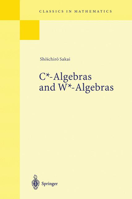 Cover of 'C*-Algebras and W*-Algebras'