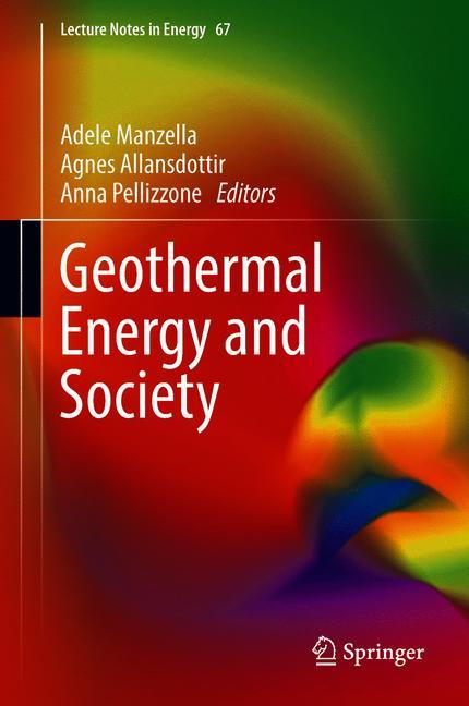 Cover of 'Geothermal Energy and Society'