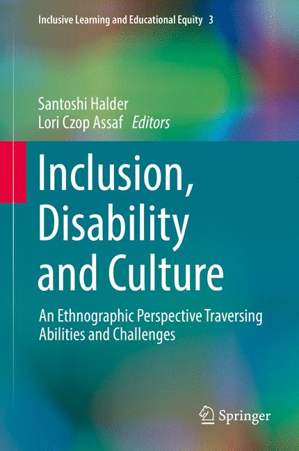 Cover of 'Inclusion, Disability and Culture'