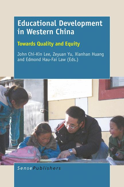 Cover of 'Educational Development in Western China'