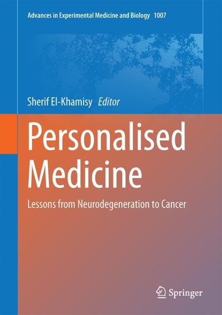 Cover of 'Personalised Medicine'