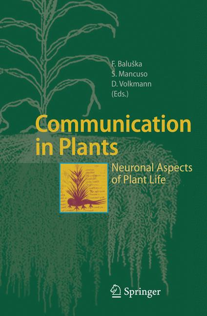 Cover of 'Communication in Plants'