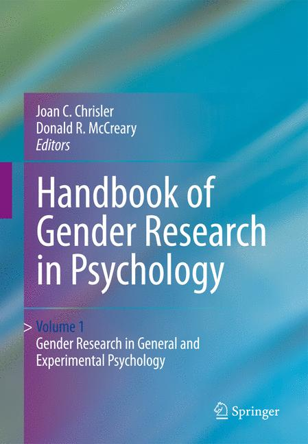 Cover of 'Handbook of gender research in psychology'