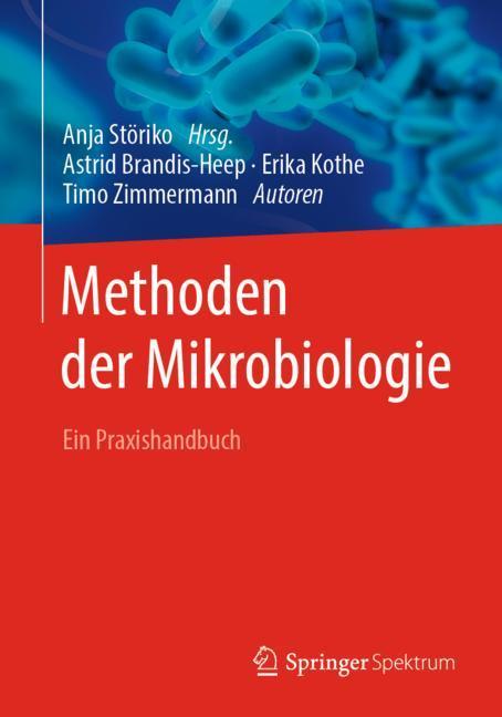 Cover of 'Methoden der Mikrobiologie'