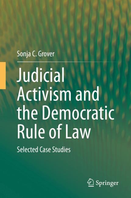 Cover of 'Judicial Activism and the Democratic Rule of Law'